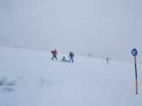 Snowboarden bringt auch Komplikationen mit sich
