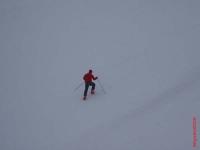 Ärgerlich wenn mann seine Ski sucht