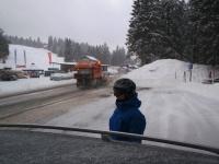 Schneepflugparade