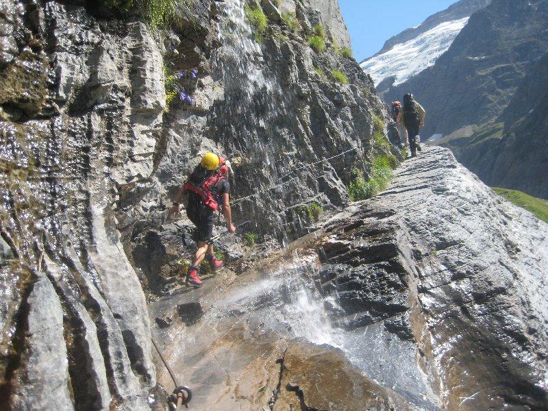 Weg zur Glecksteinhütte