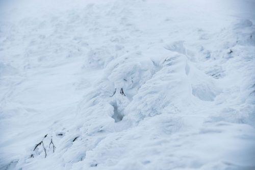 der Schnee unangenehmer