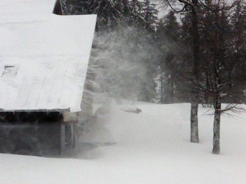 Schneeverfrachtung