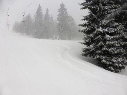 Schneeverfrachtung die Dritte