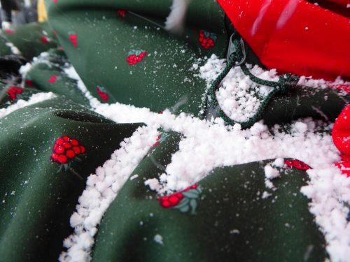 Waschpulver oder Schnee?