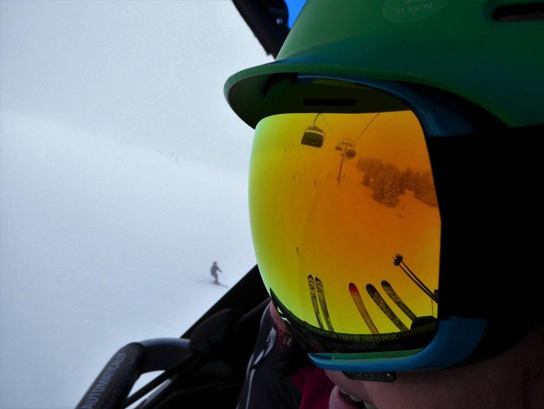 Auf Skiern geht es weiter