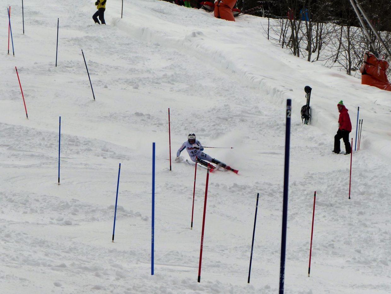FIS-Slalom auf der FIS-Strecke