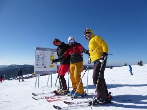 Skiing Seebuck