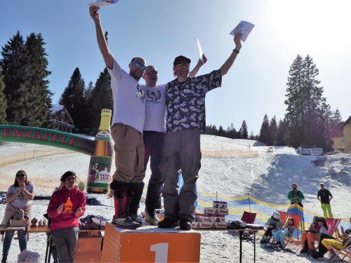 Ü50-Treffen der Snowboarder